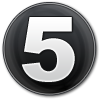 Number circle big (5)