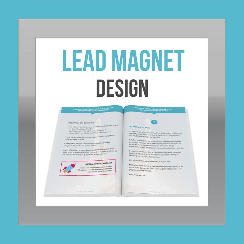 lead magnet full design. Black Bedroom Furniture Sets. Home Design Ideas