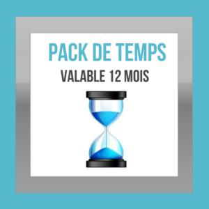 Pack de temps - DESIGN MY WEB Agency