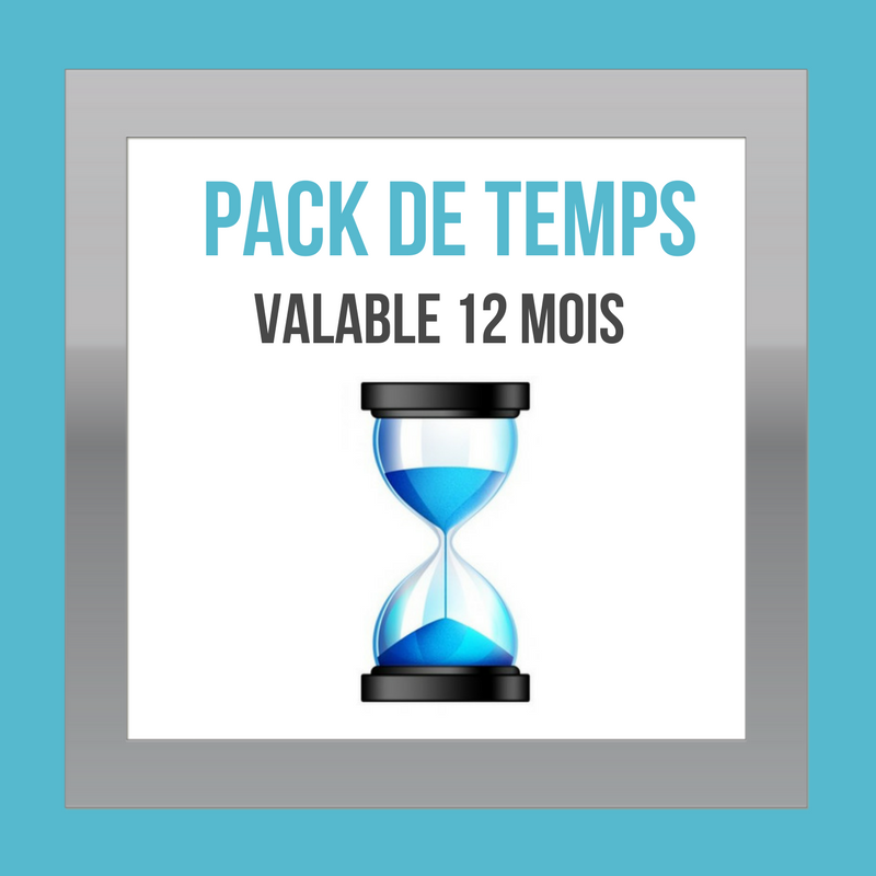 Pack de temps - DESIGN MY WEB Agency